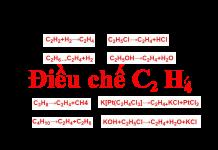 điều chế c2h2 ra c2h4