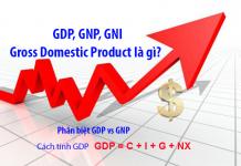 gdp gross domestic product là gì