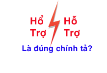 hổ trợ hay hỗ trợ
